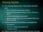 strong name