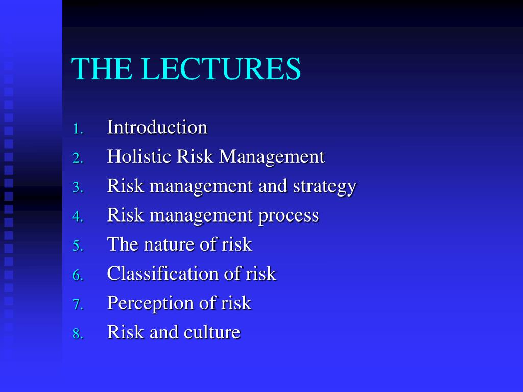 THE LECTURES