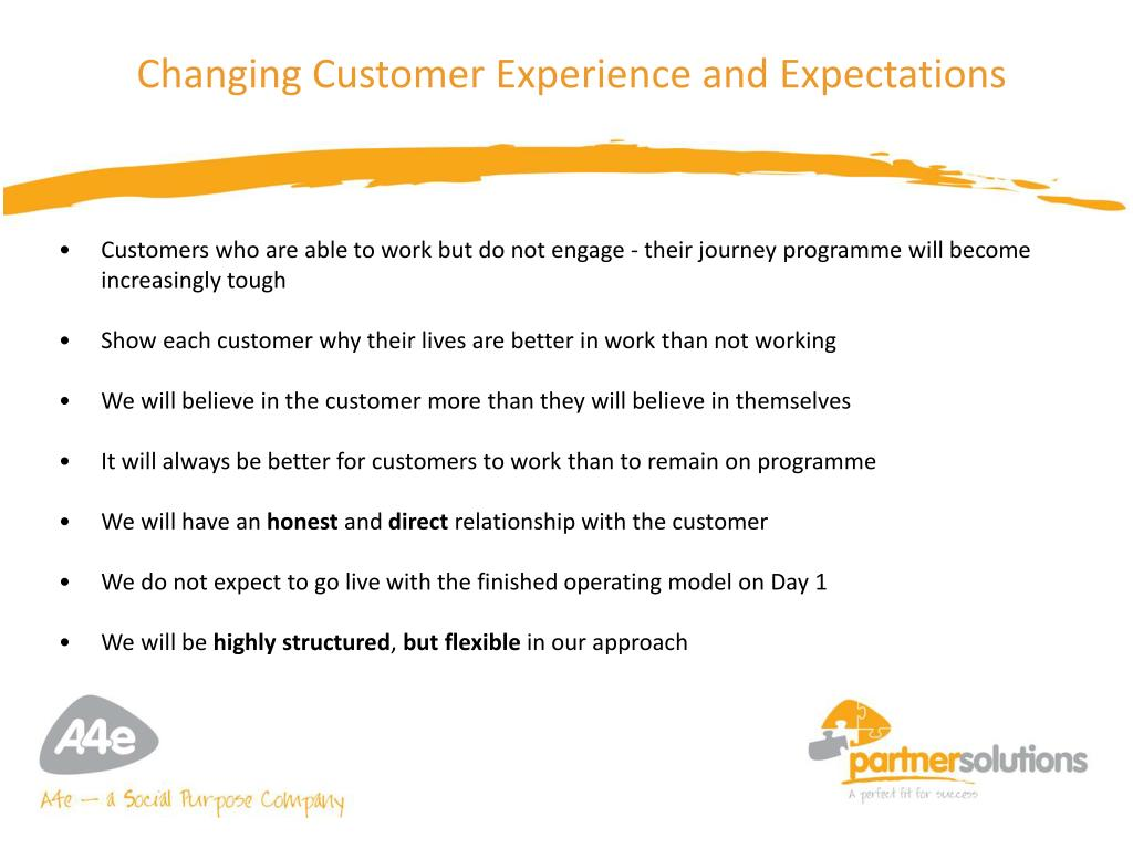 Changing Customer Experience and Expectations