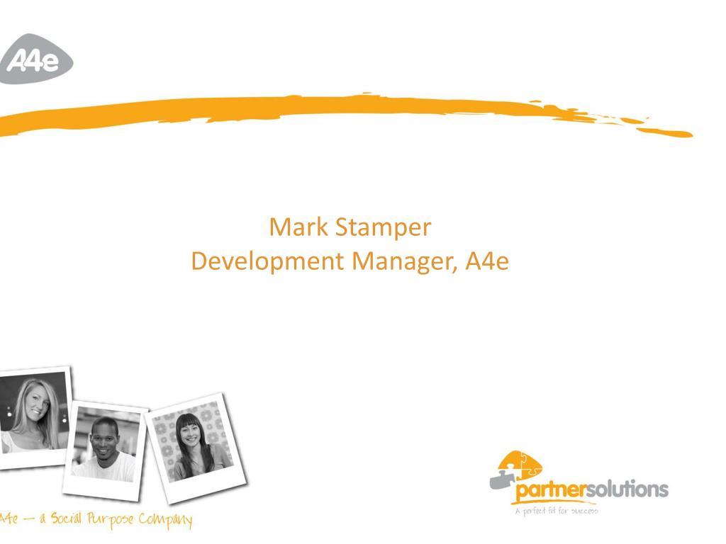Mark Stamper