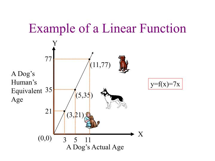 Example of a Linear Function