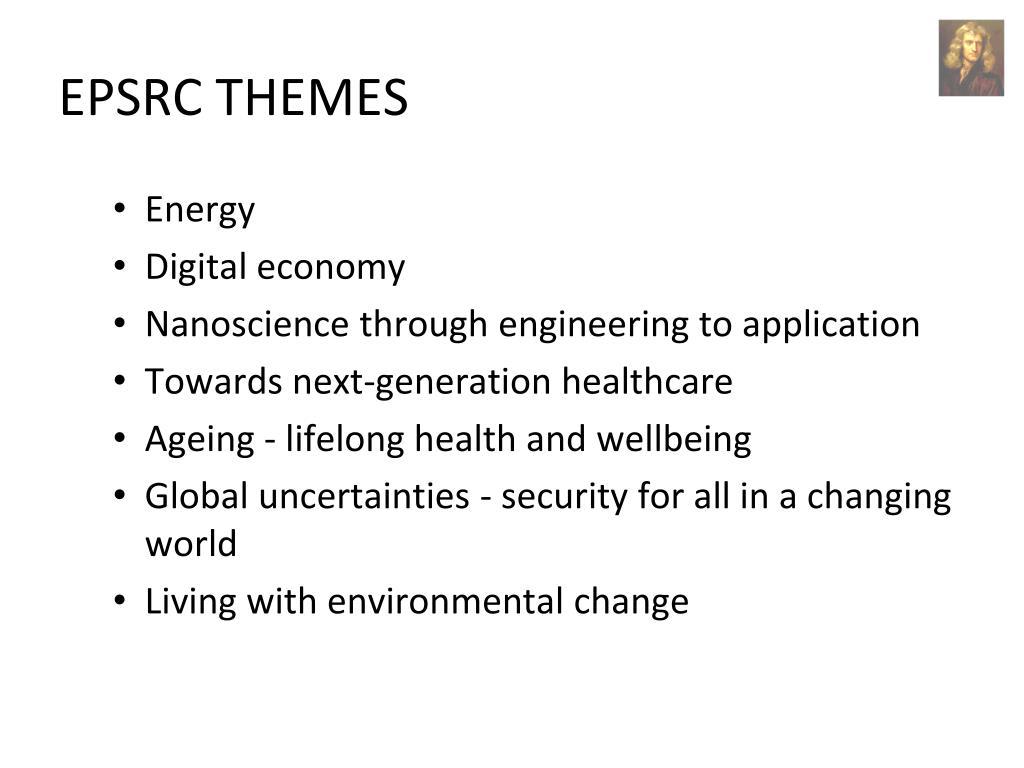 EPSRC THEMES