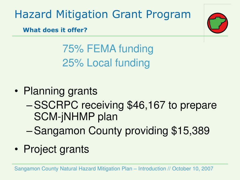 Hazard Mitigation Grant Program