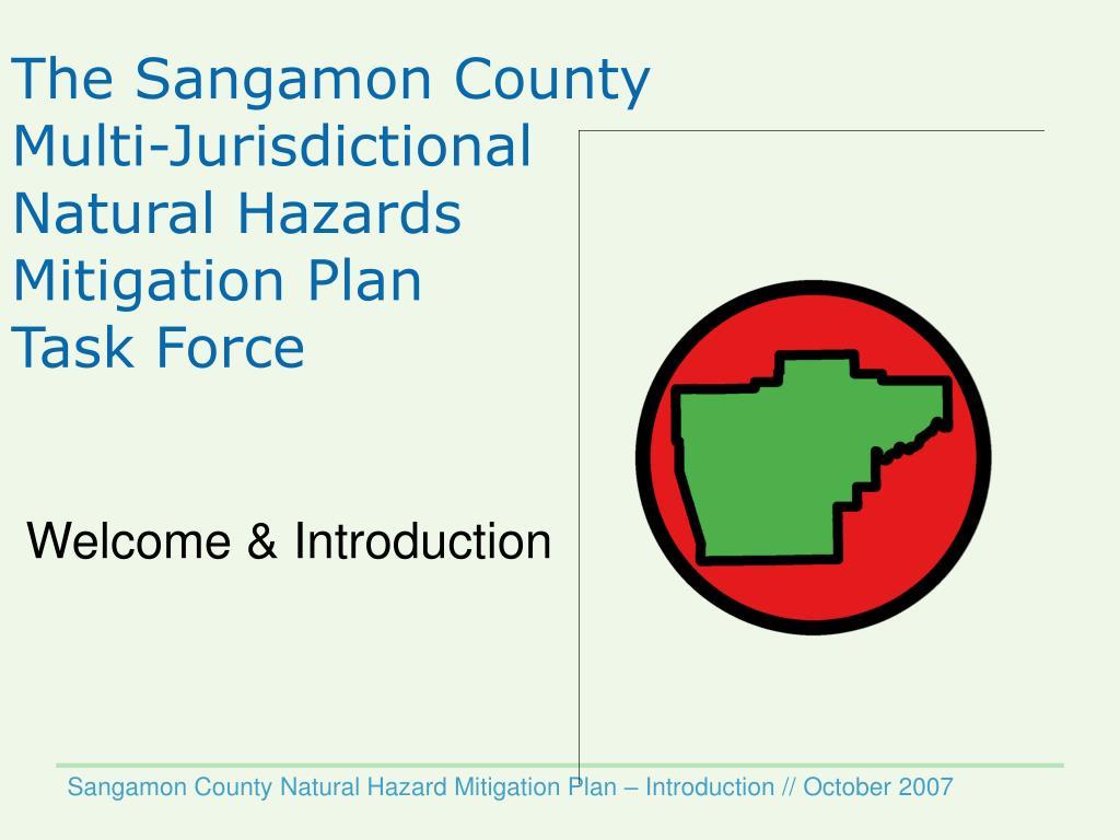 The Sangamon County Multi-Jurisdictional