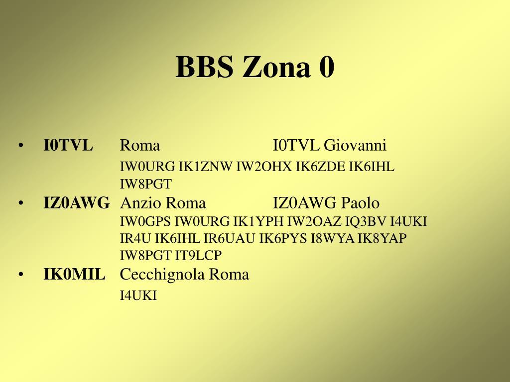 BBS Zona 0