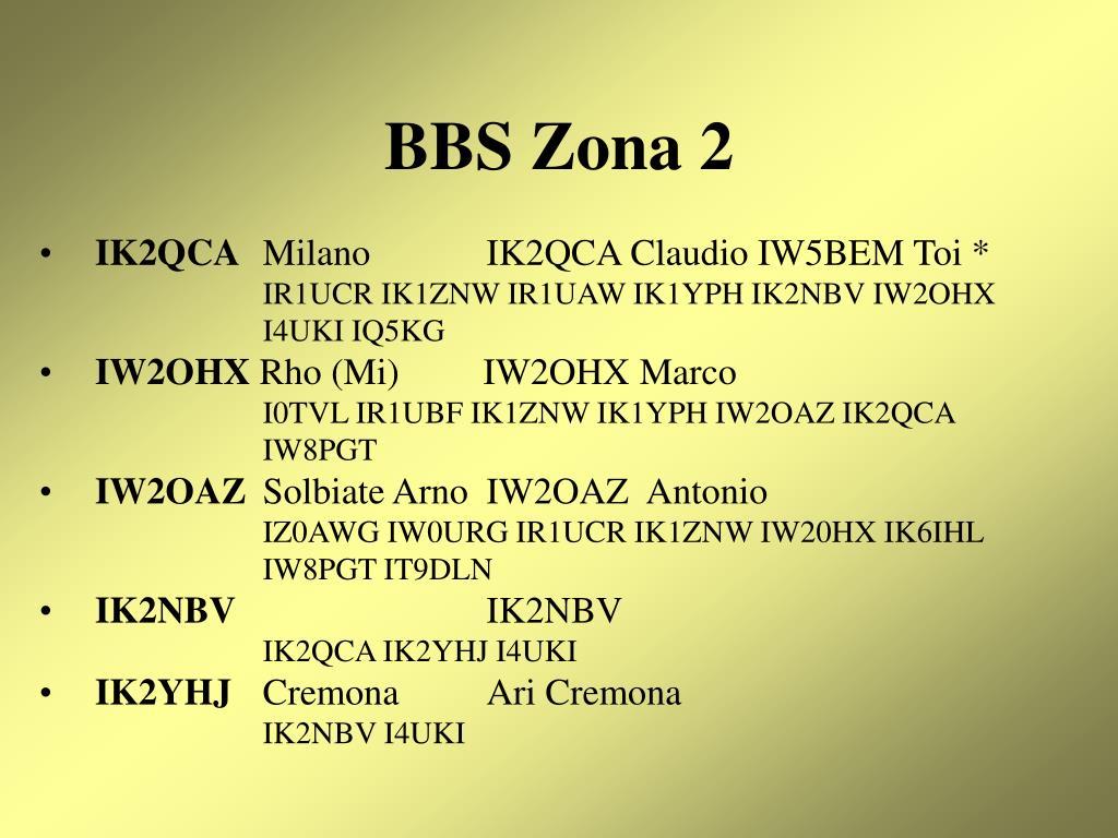 BBS Zona 2