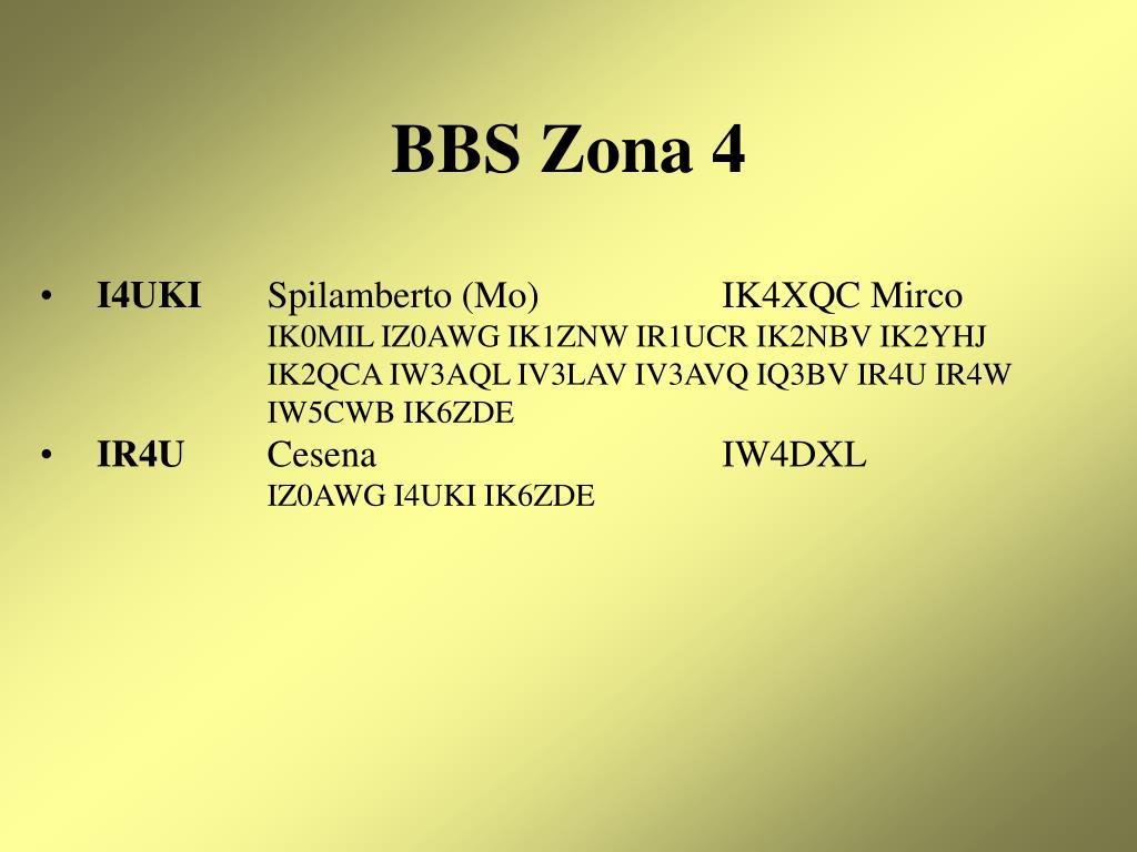BBS Zona 4