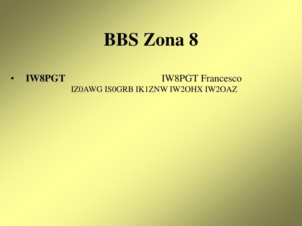 BBS Zona 8