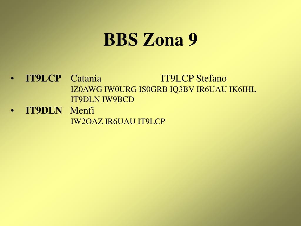 BBS Zona 9