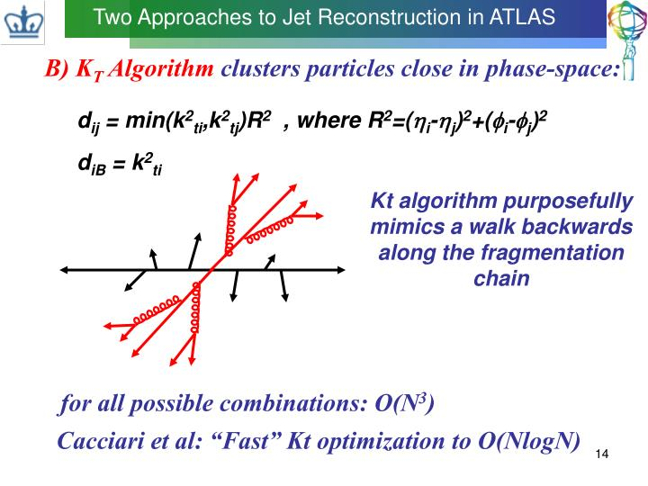Two Approaches to Jet Reconstruction in ATLAS