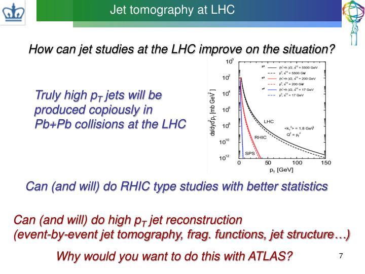 Jet tomography at LHC