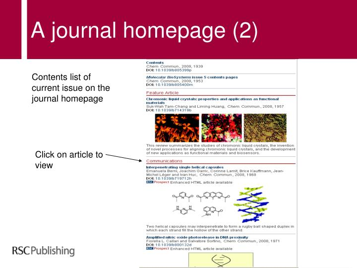 A journal homepage (2)