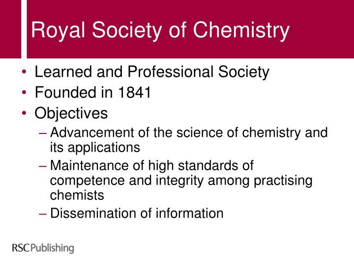 Royal society of chemistry1