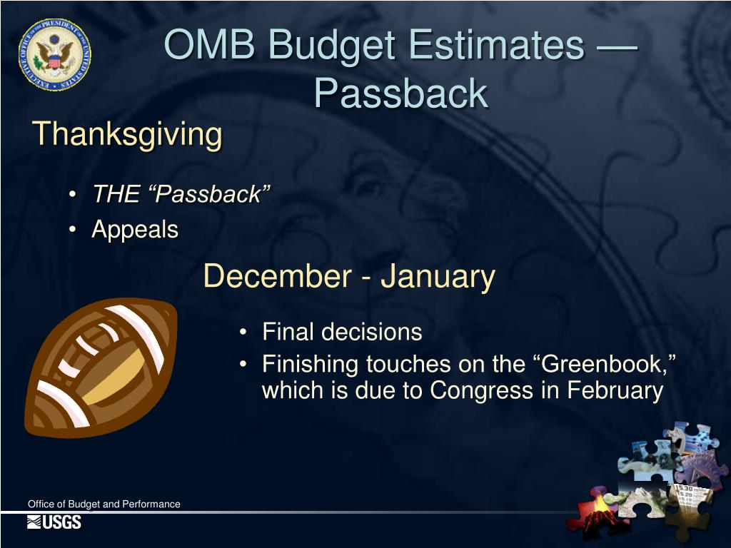 OMB Budget Estimates