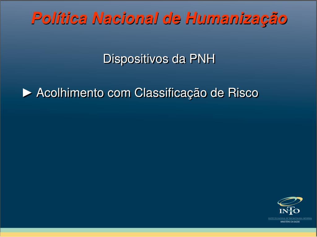 Dispositivos da PNH