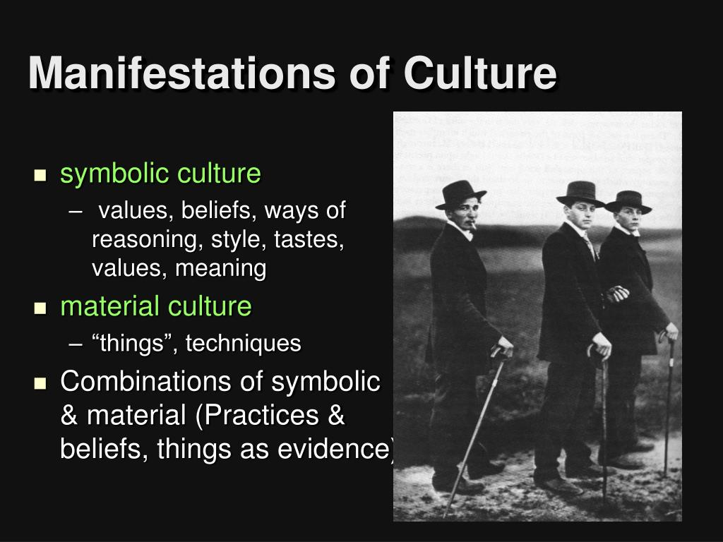 Manifestations of Culture
