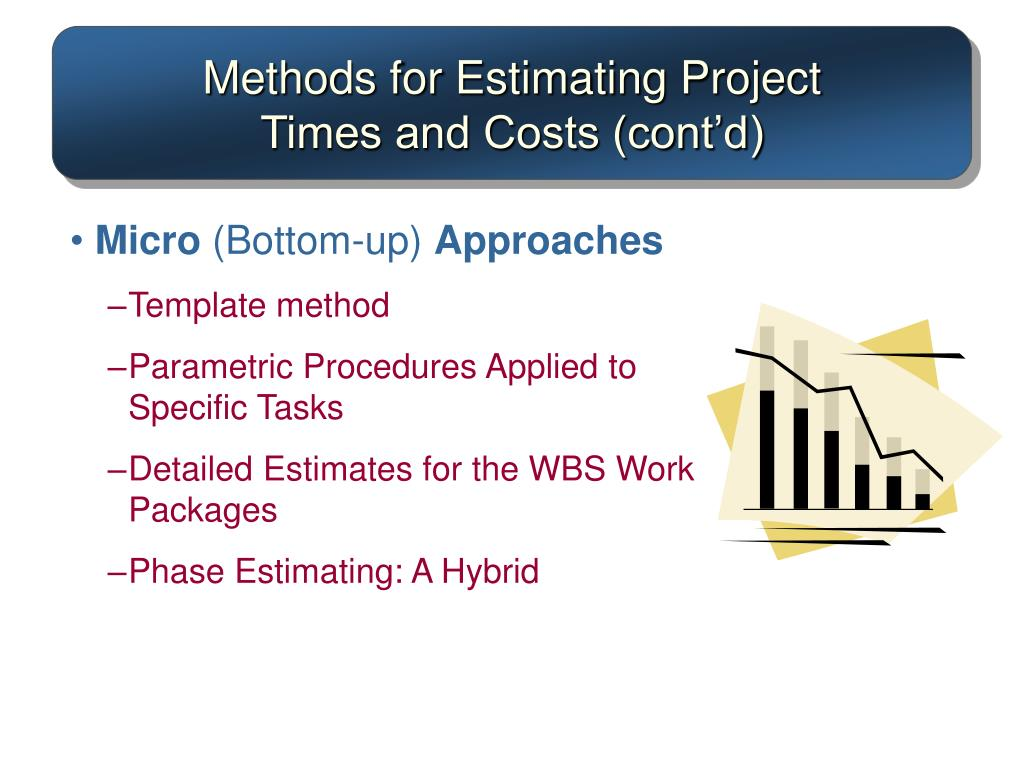 Methods for Estimating Project