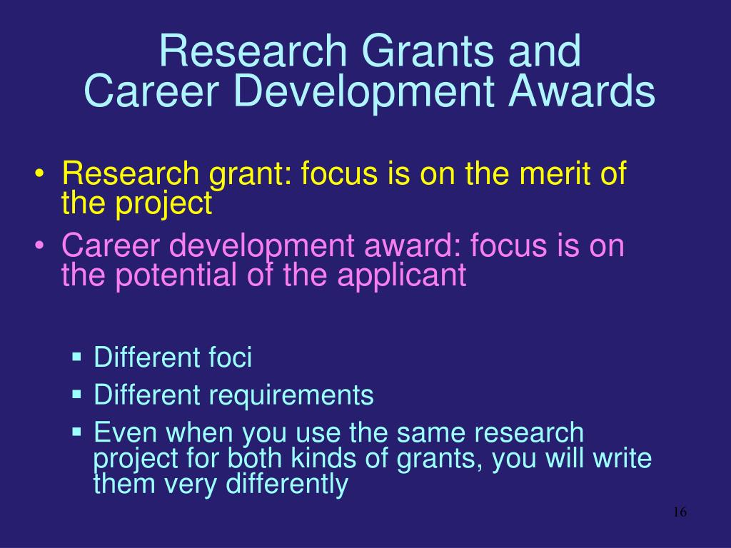 Research Grants and