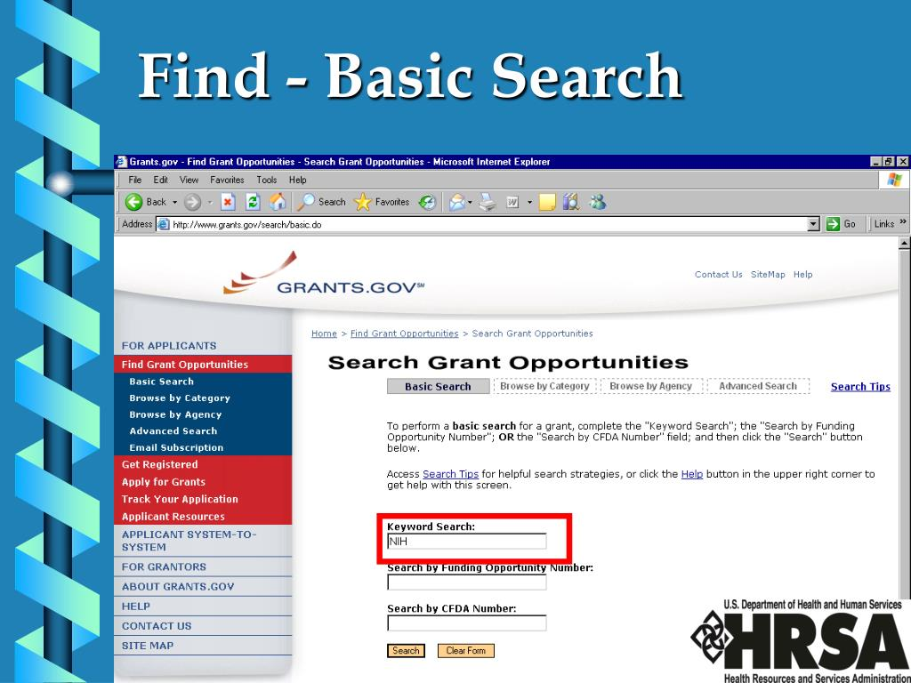 Find - Basic Search