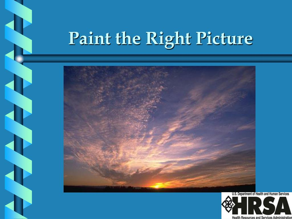 Paint the Right Picture