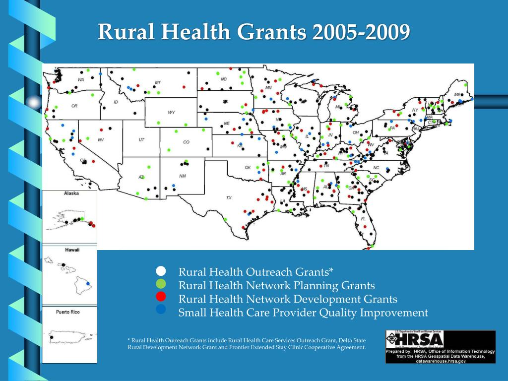 Rural Health Grants 2005-2009