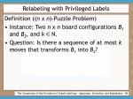 relabeling with privileged labels45