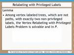 relabeling with privileged labels51