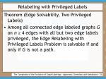 relabeling with privileged labels53