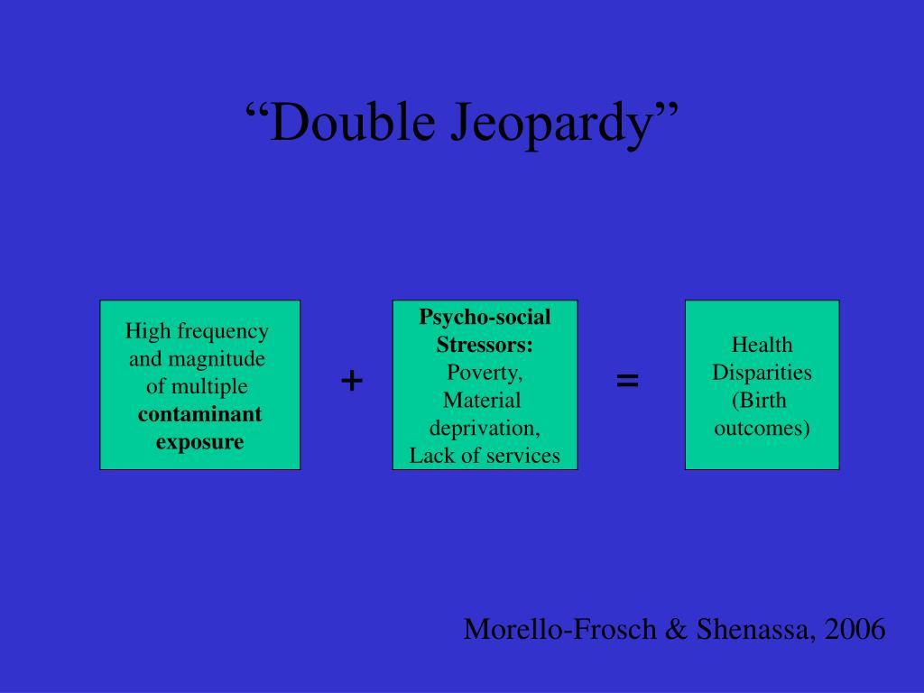 """Double Jeopardy"""