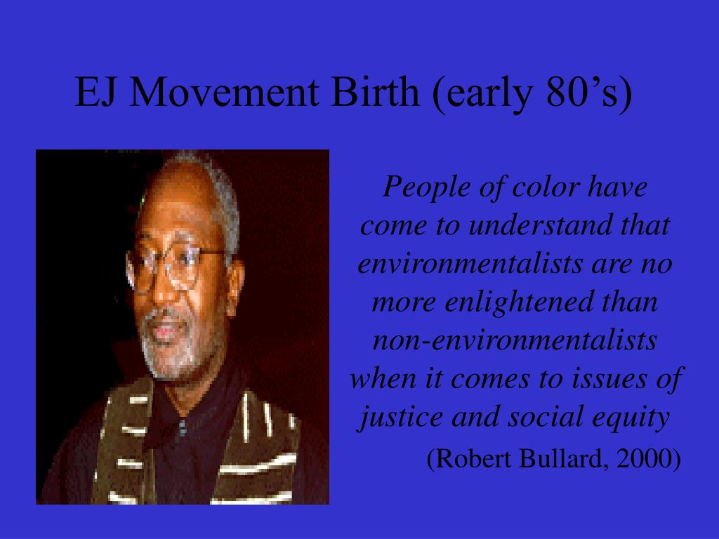 EJ Movement Birth (early 80's)