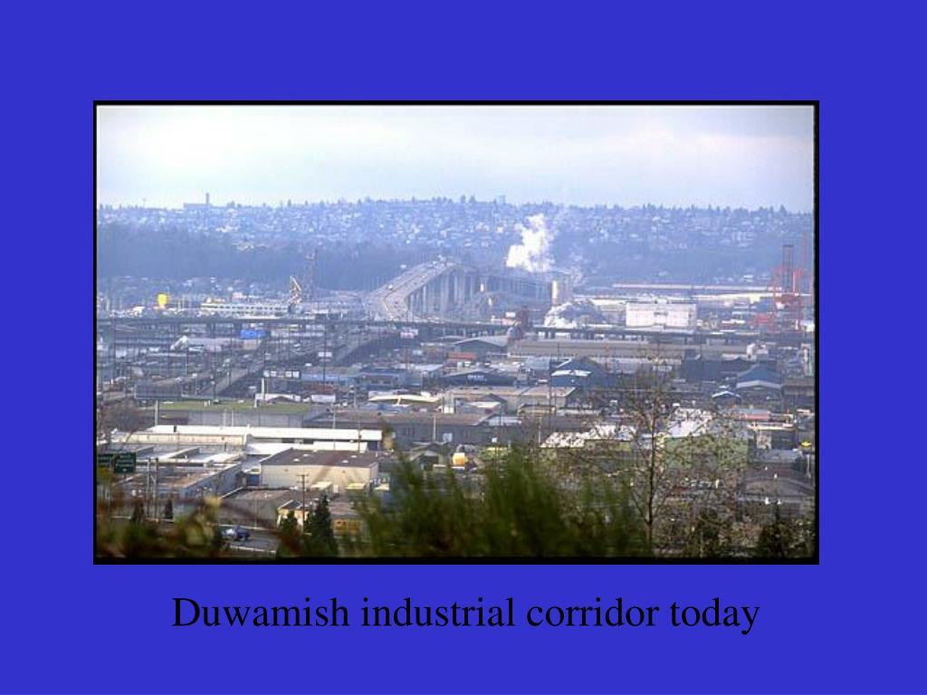 Duwamish industrial corridor today