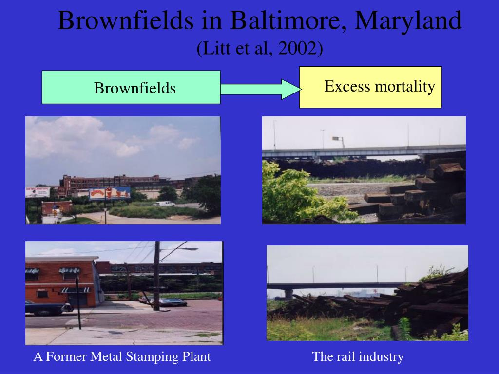 Brownfields in Baltimore, Maryland