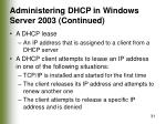 administering dhcp in windows server 2003 continued31