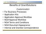 benefits of grantsolutions5