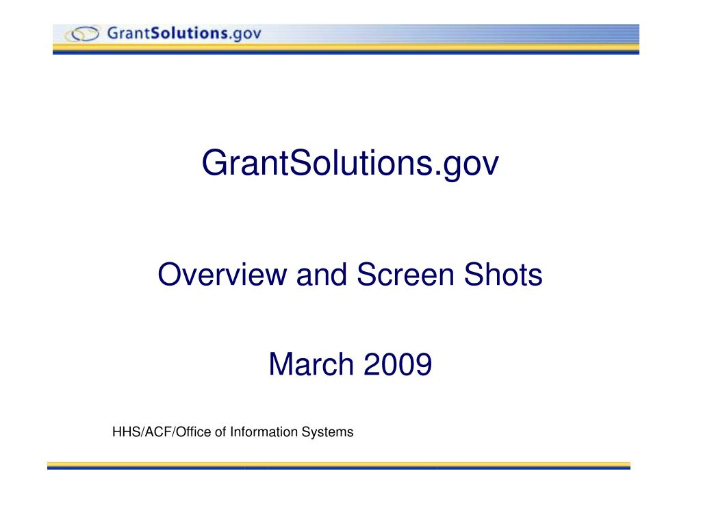 grantsolutions gov l.