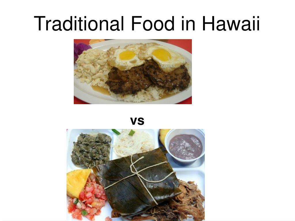 Traditional Food in Hawaii