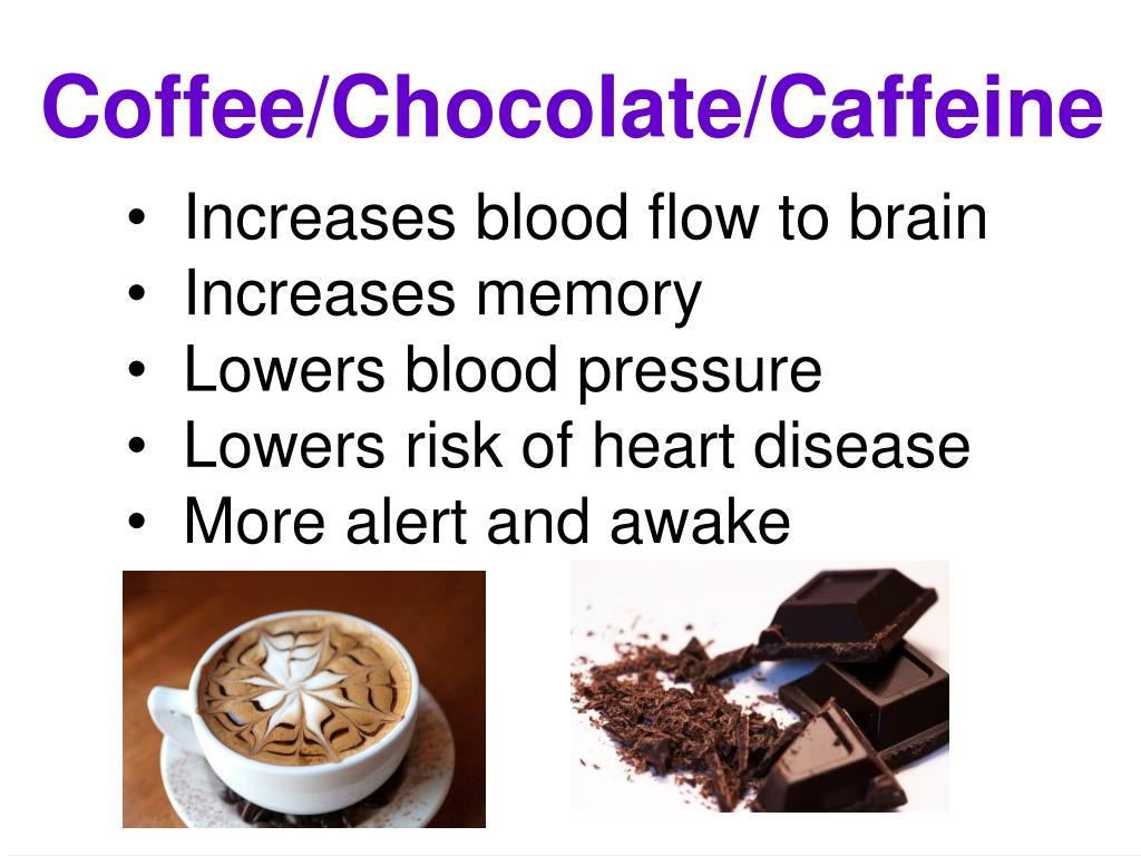 Coffee/Chocolate/Caffeine