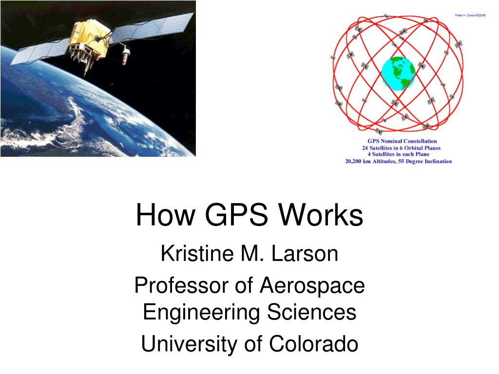 how gps works l.