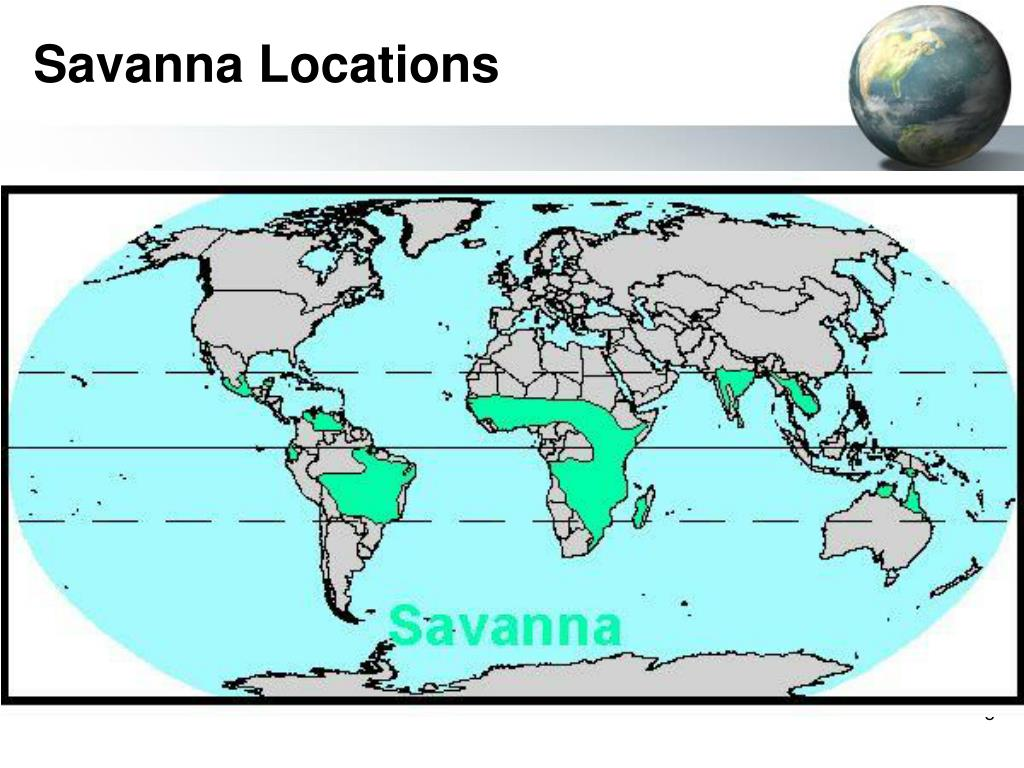 Savanna Locations