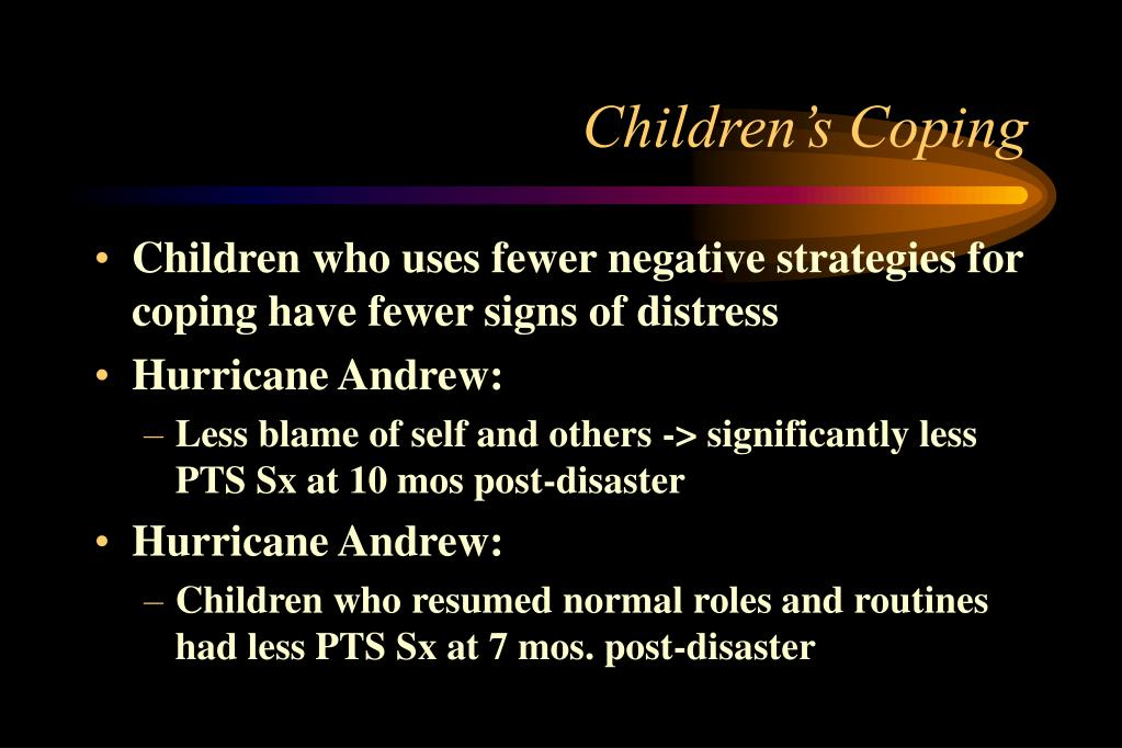Children's Coping