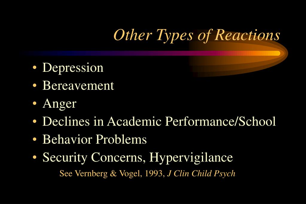 Other Types of Reactions