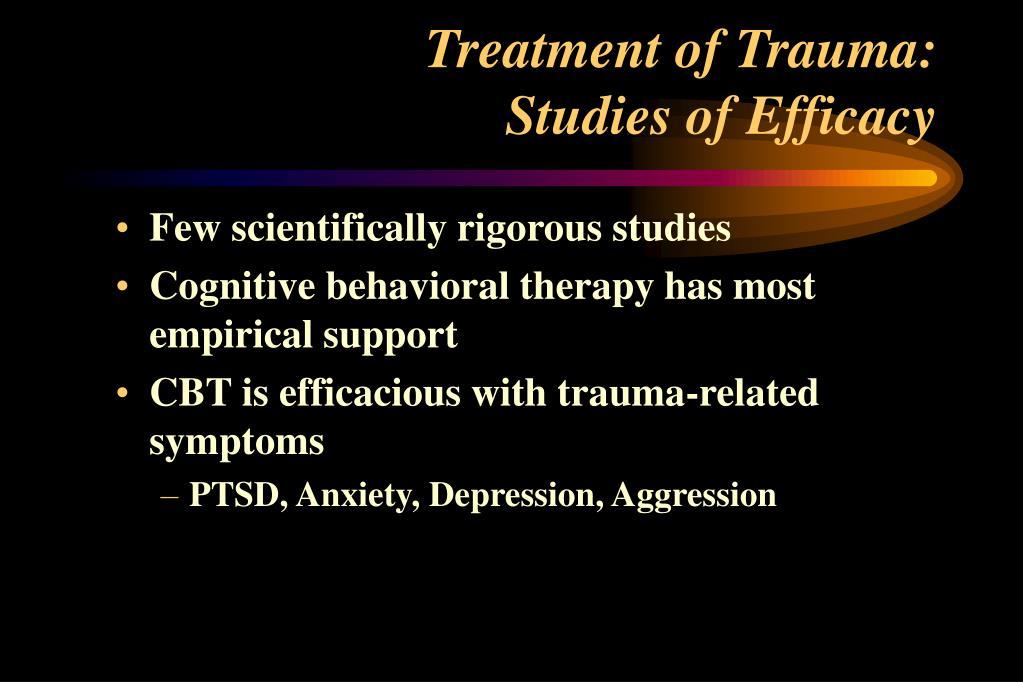 Treatment of Trauma: