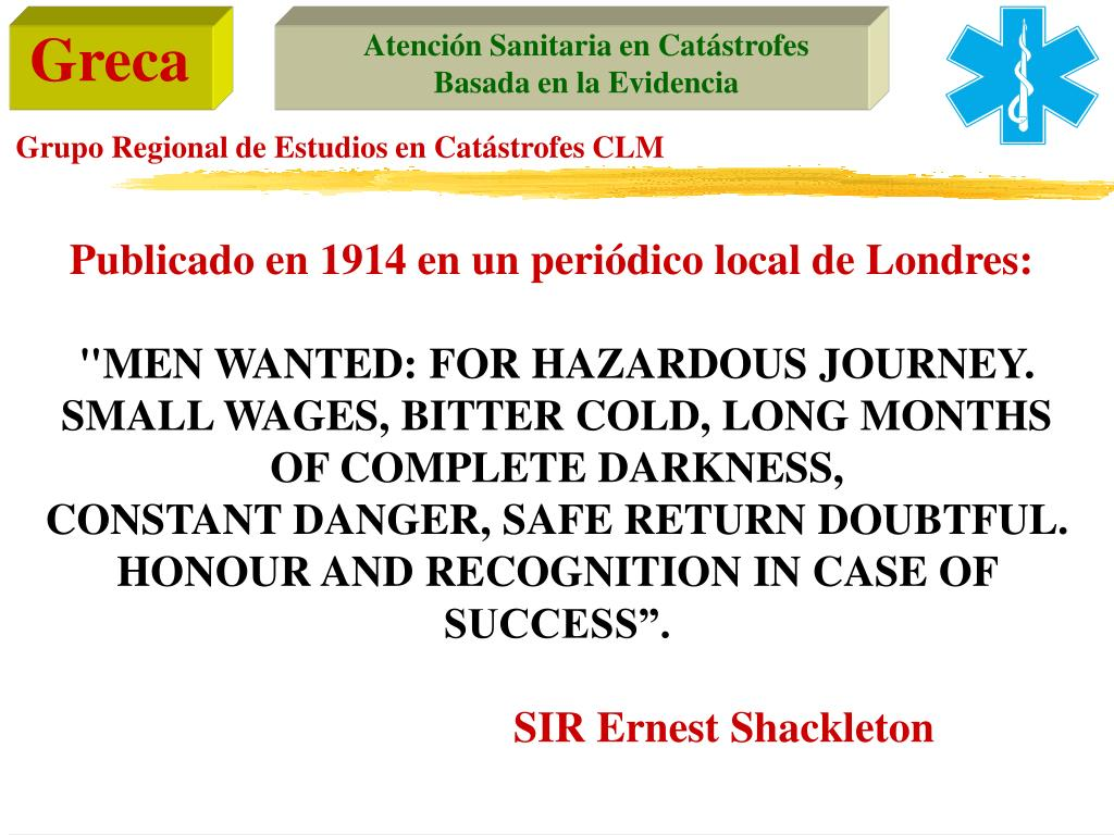 Publicado en 1914 en un periódico local de Londres: