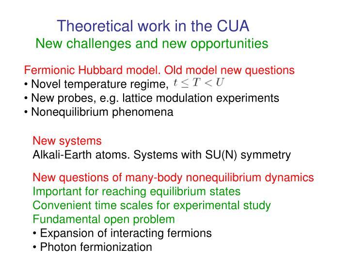 Fermionic Hubbard model. Old model new questions