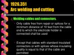 1926 351 arc welding and cutting32