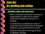 1926 351 arc welding and cutting33