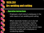 1926 351 arc welding and cutting37