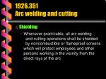 1926 351 arc welding and cutting40