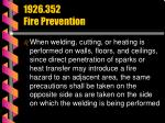 1926 352 fire prevention45