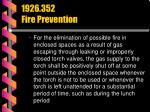 1926 352 fire prevention47